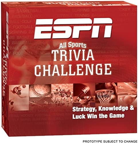 ESPN Trivia Game by USAopoly