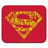 Superman Superman Icons Logo Low Profile Thin Mouse Pad Mousepad