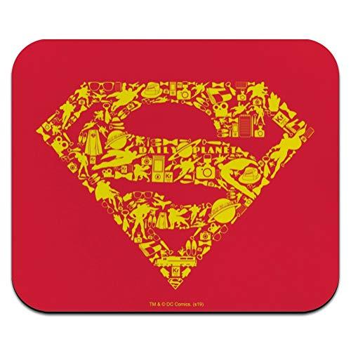Superman Superman Icons Logo Low Profile Thin Mouse Pad Mousepad