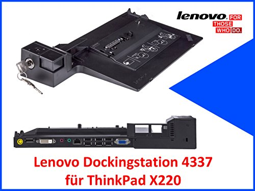 Original Lenovo Dockingstation 4337 für ThinkPad X220 mit Schlüssel
