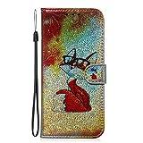 Tosim Coque Galaxy A6+ (A6Plus) 2018 Cuir PU Etui Flip Case Housse Portefeuille avec Porte Carte Support et Fermeture Magnétique pour Samsung Galaxy A6+ (2018) - TOTXI150106 T2