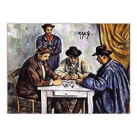 Hbdjns フレンチポールセザンヌウォールアートポスタープリントキャンバス絵画写真リビングルーム家の装飾-60X80Cmx1フレームなし