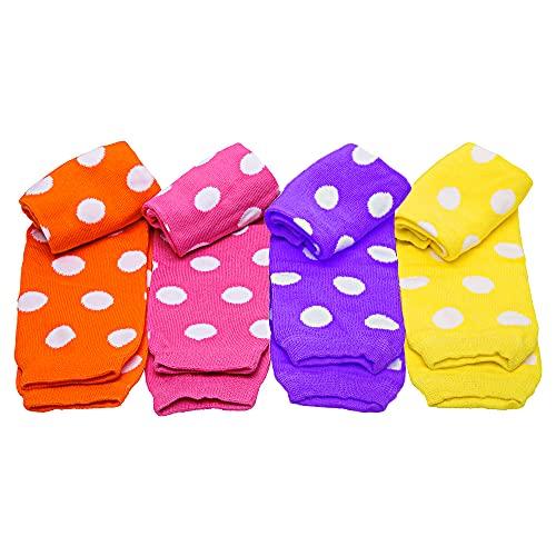 JuDanzy Girls Polka Dot Baby Leg Warmers