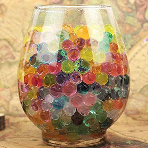 YH 500 Piezas Bolas de Suelo de Cristal Colorido Planta de Agua...