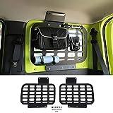 2 uds, bastidores traseros de aleación de aluminio para coche, soporte de almacenamiento para maletero, soporte para equipaje, accesorios para Suzuki Jimny 2019 2020