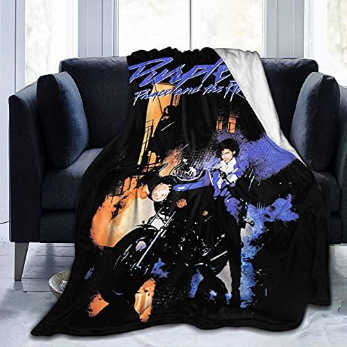 Prince Purple Rain Rock Lovesexy 1999 - Manta de franela para cama suave y cálida, con 203 x 60 pulgadas