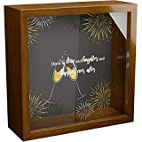 10 Year Couples Shadow Box Frame   Ten Anniversary Presents for Boyfriend and Girlfriend   Tenth Year Wedding Present Husband Wife