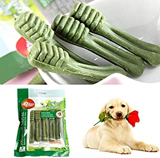 DORLIONA Pet Supplies Dog Teeth Stick Pet Fresh Clean Teeth Bones Puppy Dog Tooth Stick Pet Training Snacks Bite Dog chew ...