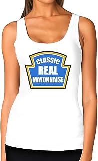 Mayonnaise Funny Mayo Easy Custom Novelty Gift Women Tank Top