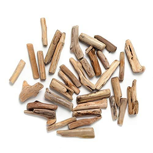 *Zoylink 30 STÜCKE Treibholz Stück DIY Handwerk Holz Kreative Natürliche Aquarium Holz Dekoration*