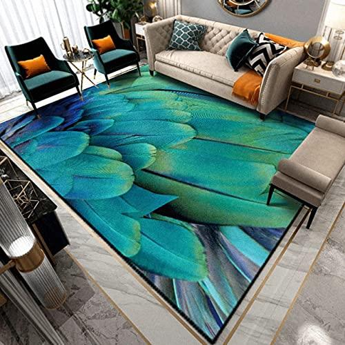 xuyuandass Area Carpet,3D European Style Art For Living Room Bedroom Anti-Slip Kitchen Floor/Rug Fashion Home 180X260Cm,Children'Room Carpet