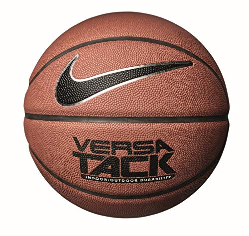 Nike UnisexNKI0887903 Basketball , braun (amber/Black/Metallic silver/Black - aa), 7