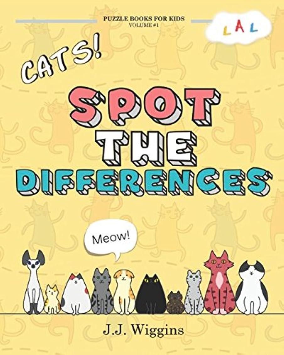 式音楽主流Spot the Differences: Cats (Puzzle Books for Kids)