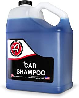 Adam's Car Wash Shampoo (Gallon) - pH Auto Detailing & Cleaning Wash Soap | Use W/ 5 Gallon Bucket, Pressure Washer, Foam Cannon or Gun, Sponge, Mop, Mitt, Chamois | Won't Remove Car Wax or Sealant