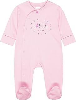 Staccato Pyjama Sweetie Organic Cotton - Rose Melange Stripes