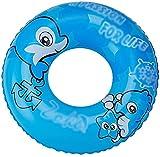 Infantil Playa anillo flotante inflable silla de la piscina Boya de anillo del anillo de bañera piscina del baño del anillo de seguridad auxiliar anillo flotante juguetes de agua (color: azul, tamaño: