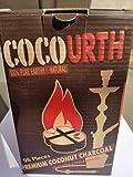 Best COCO Hookah Coals - Hookah Natural Coconut Charcoal 96 Pieces Quarter Circle Review