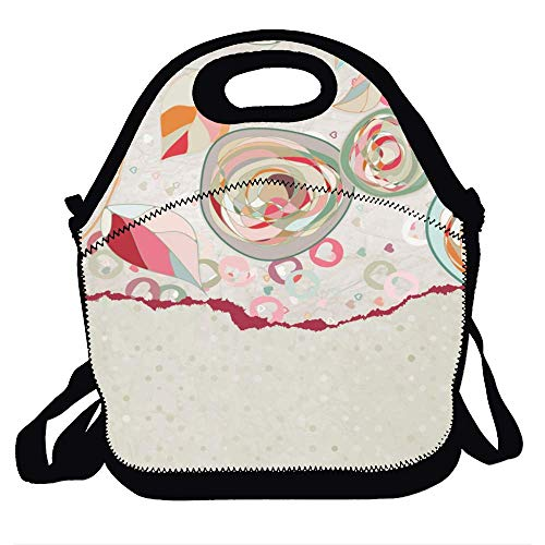 Lunch Bag Insulated Lunch Box Reusable Lunch Tote Cooler Organizer Bag Lunch Bags for Women Ladies Adults - Best Cute Images