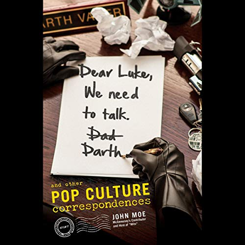 Dear Luke, We Need to Talk, Darth audiobook cover art