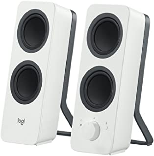 Logitech 980-001293 Z207 Bluetooth Speakers/PC Speakers or 3.5 mm Input, 10 W - White/black