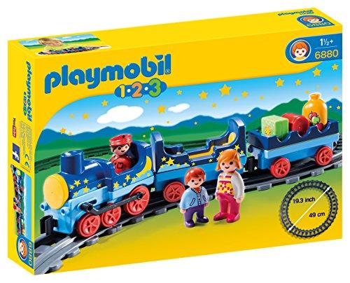 PLAYMOBIL 1.2.3 - 1.2.3 Tren con Vías (6880)