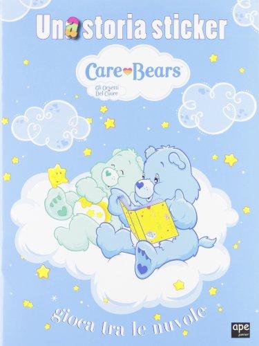 Una storia sticker. Gioca tra le nuvole. Care Bears. Gli orsetti del cuore. Con adesivi. Ediz. illustrata