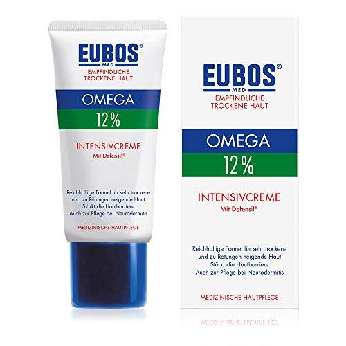 Eubos | OmegaIntesivcreme | 50ml | für empfindliche und trockene Haut | Hautvertäglichkeit dermatologisch bestätigt | bestätigt Omega-Fettsäuren | Hochwertige natürliche Öle