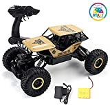 Smiles Creation™ 4WD Rally CAR, Rock Monster Crawler 1:18 Scale Truck (Metal Body)