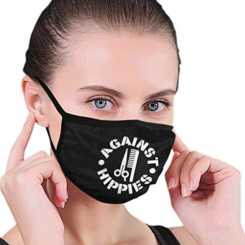 GEGEN Hippies Unisex-Druck Warme waschbare Wiederverwendbare Mundbekleidung Ohrwärmer Stirnband Gartennasenabnutzung