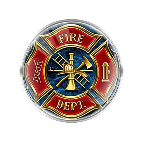 Fire Dept Theme Brosche Für Männer Frauen Dekoration Pins Geschenke