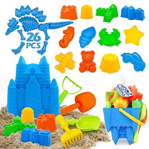Nifhoo 26 Pcs Beach Toy