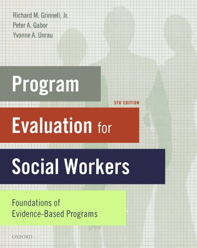 Program Evaluation for Social Workers: Foundations of...