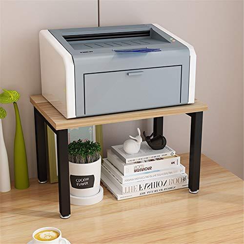 Impresora estante Impresora del estante del estante creativo dispositivo de almacenamiento de doble estante del estante del estante de la impresora simple mesa de la impresora estante Almacenamiento d