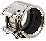 Dixon STR20650 Stainless Steel Straub Grip-L Axial Restraint Pipe and Welding Fitting, Pipe Coupling, 3' Size, 3-29/64' to 3-17/32' Pipe OD Range