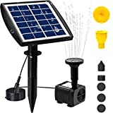 Viajero 3W Solar Fountain Pump for...