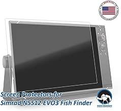 Tuff Protect Anti-Glare Screen Protectors Simrad NSS12 evo3 12