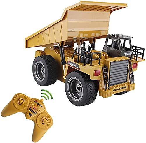 Hermry RC. Dumper Truck Dumper Tilling Cart 2. 4g 4wd. Nota Lorry MÁQUINA Mina Mina Vehículo de Juguete electrónico for niños