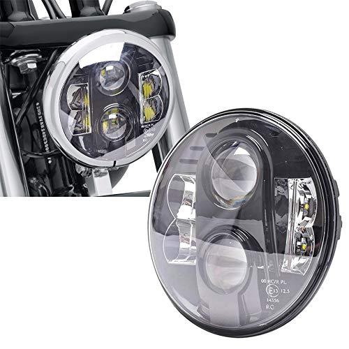 Osram E13 Ampoule LED ronde 7 pouces 80 W pour moto
