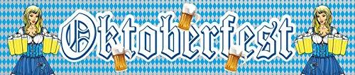 Neu Oktoberfest WIES\'N Warm up Folienbanner Oktoberfest