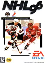 NHL 96 Sega Genesis Instruction Booklet (SEGA GENESIS MANUAL ONLY - NO GAME) Pamphlet - NO GAME INCLUDED