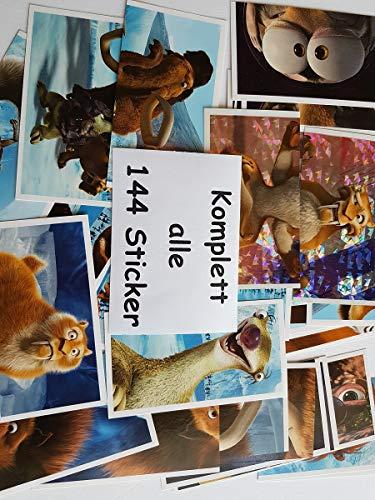 Unbekannt LIDL - Ice Age (Kollision Voraus) - Alle 144 Sticker KOMPLETT - Rarität