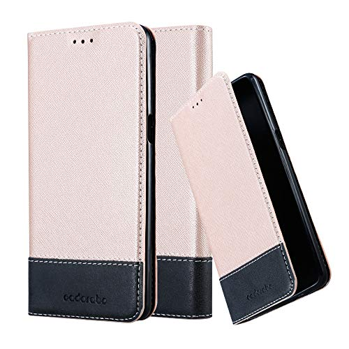 Cadorabo Funda Libro para OnePlus 3 / 3T en Rosa Oro Negro - Cubierta Proteccíon con Cierre Magnético, Tarjetero y Función de Suporte - Etui Case Cover Carcasa
