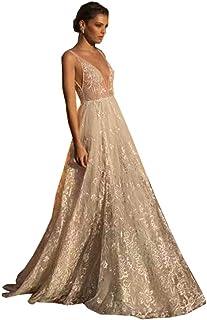 91cb2cd097dd dressvip Abito da Sposa Elegante in Stile Vantage per Matrimonio Abito  Lungo Senza Spalline Senza Spalline