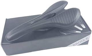 2019 nova fibra de carbono Estrada MTB Saddle use 3k t700 Material carbono almofadas Super Leve Couro passeio bicicletas a...