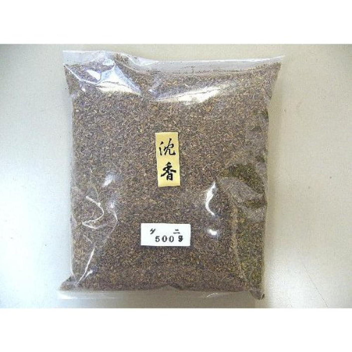 弾性切り離すつまずくインドネシア産 タニ沈香(刻み)500gビニ-ル袋入