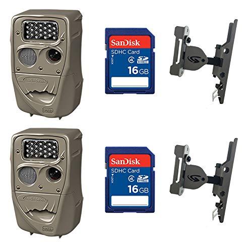 Cuddeback 20MP Trail Camera (2 pk) + 16GB SD Card (2 pk) +...