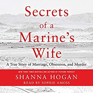 Secrets of a Marine's Wife audiobook cover art