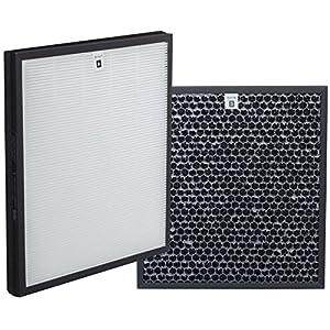 Comedes Set di filtri di ricambio per Philips AC4012/10 Purificatore d'Aria   HEPA e filtro a carbone attivo   applicabile al posto di Philips AC4124/10 e AC4123/10