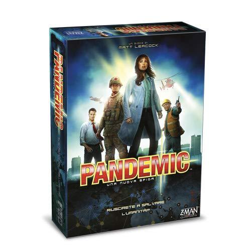 Asmodee Z-Man Games Pandemia, Gioco da Tavolo [Versione Italiana]