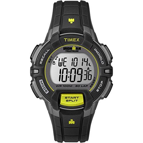 Timex T5K809 - Reloj de cuarzo unisex, con correa de resina, color negro